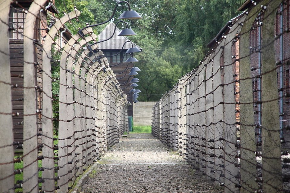 Walls of Auschwitz Death Camps