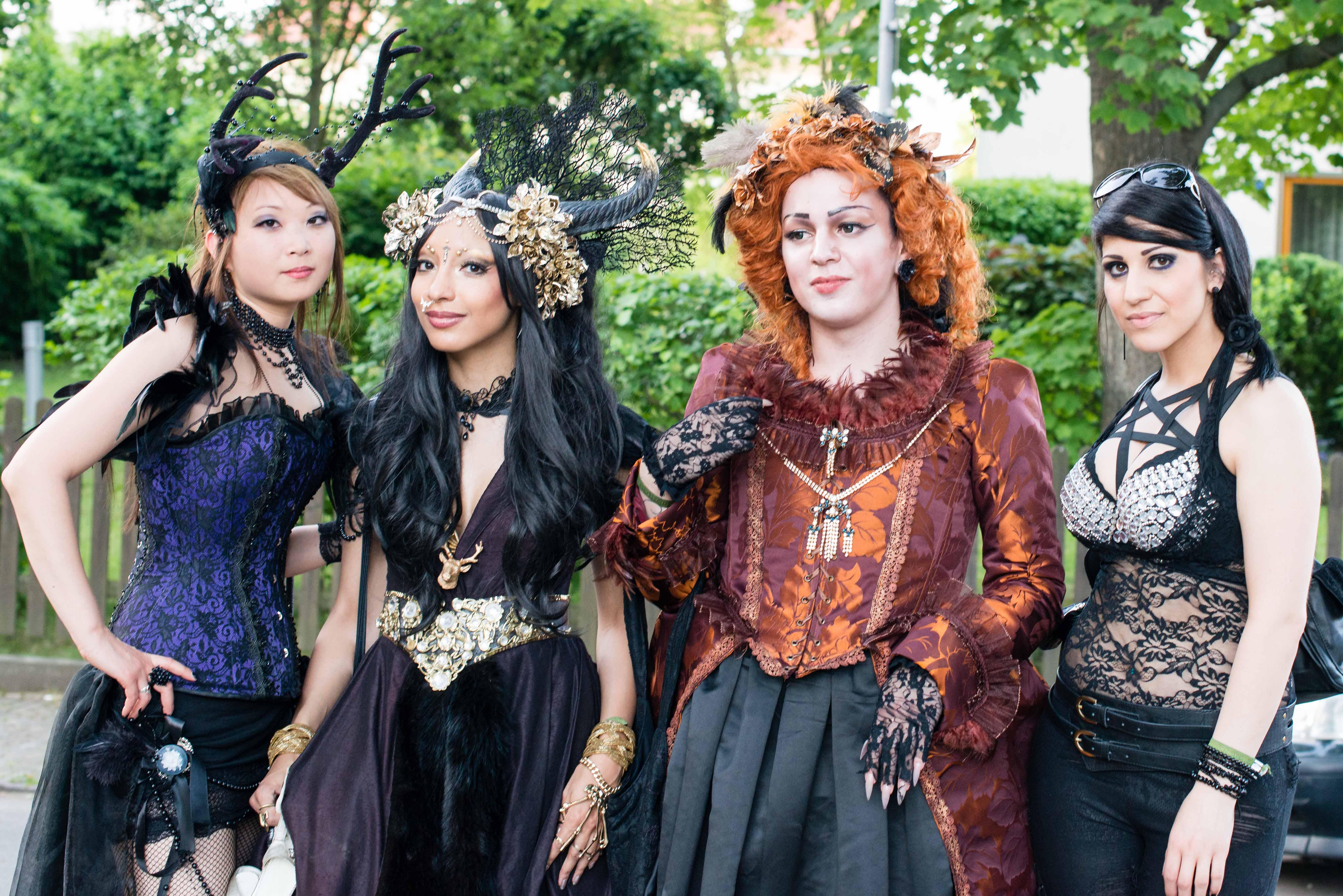 Wave Gotik Treffen- gloomy gothic music festival in
